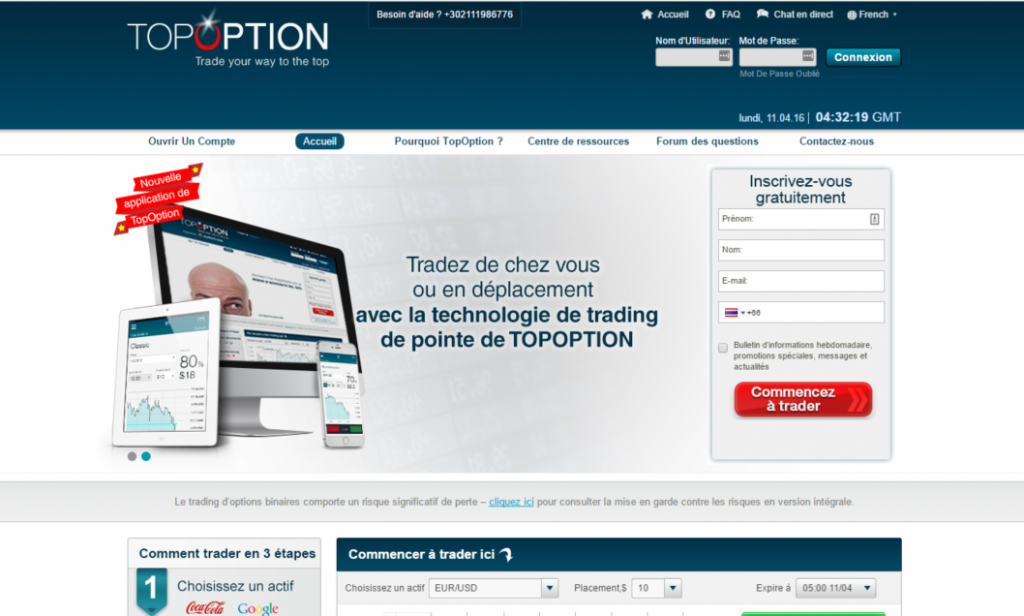 topoption trading