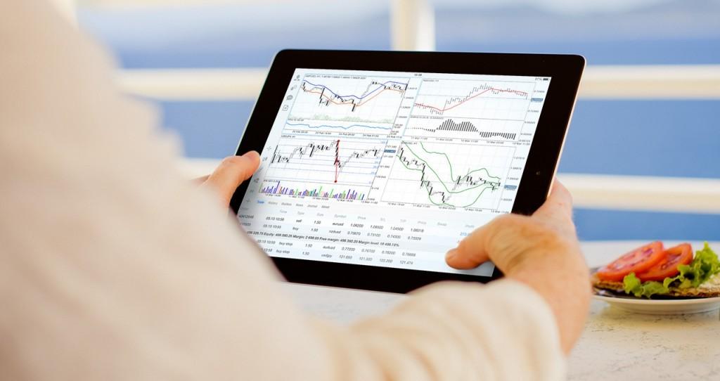 trading en ligne sur tablette